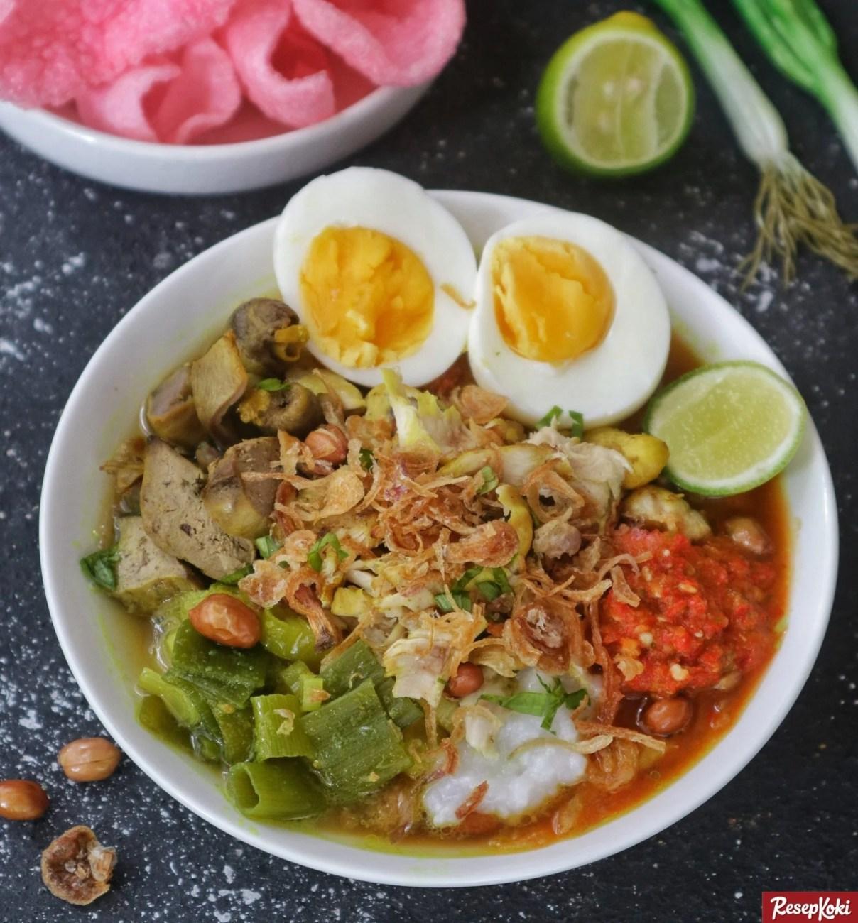 Resep Bubur Ayam Cianjur