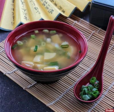 Gambar Hasil Membuat Resep Miso Soup