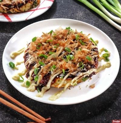 Gambar Hasil Membuat Resep Okonomiyaki