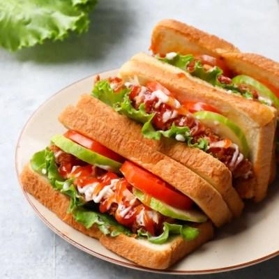 sandwich praktis lezat