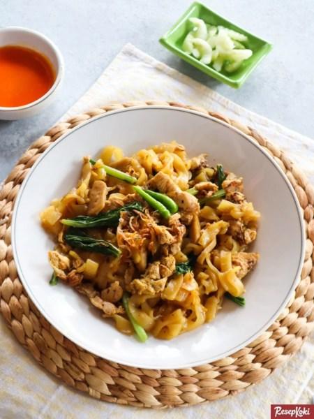 Gambar Hasil Membuat Resep Mie Tiaw Goreng Ayam