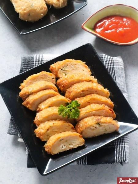 Gambar Hasil Membuat Resep Kekian Ayam Udang