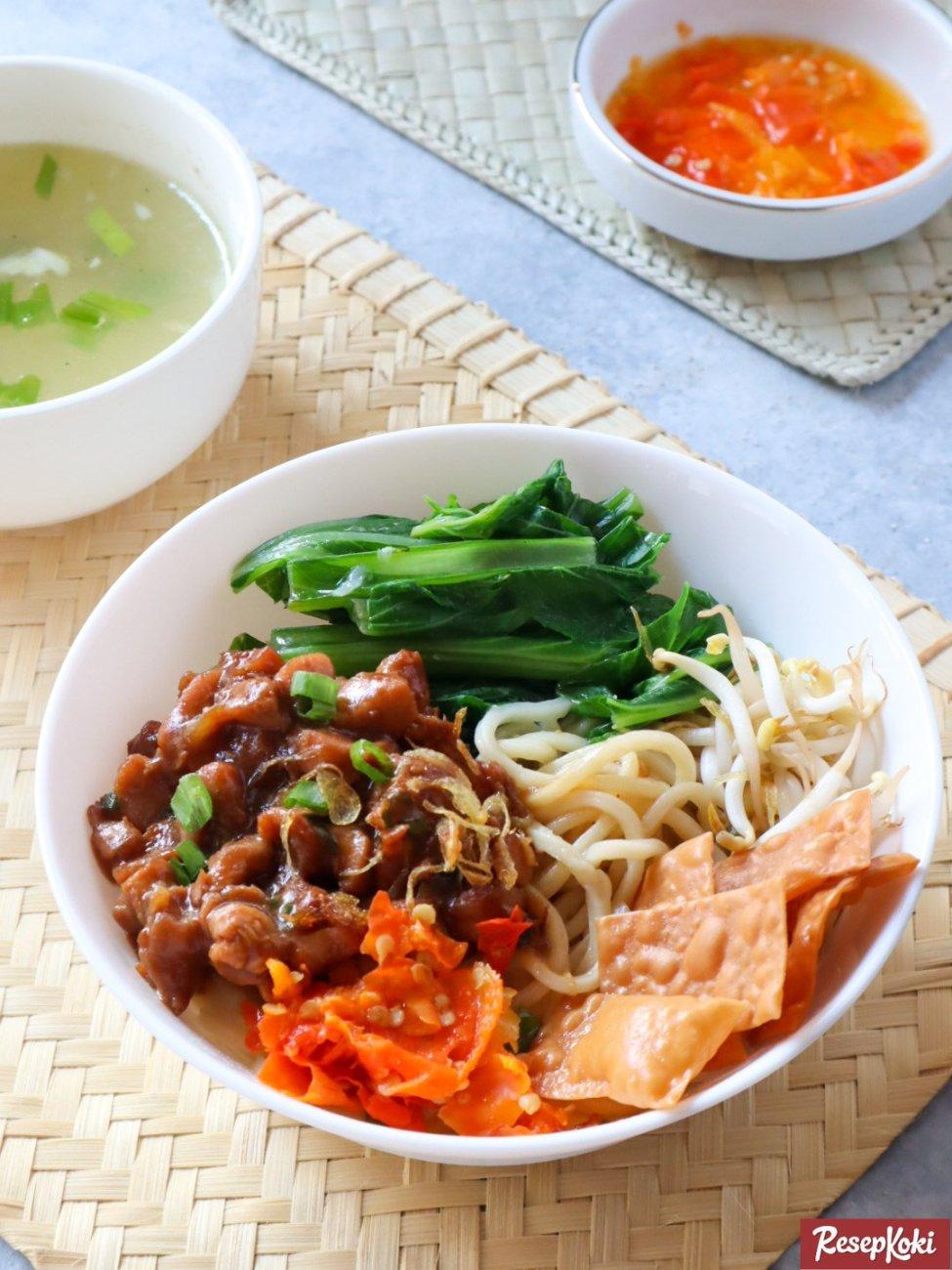 Resep Kuah Mie Ayam : resep, Bangka, Gurih, Sederhana, Resep, ResepKoki