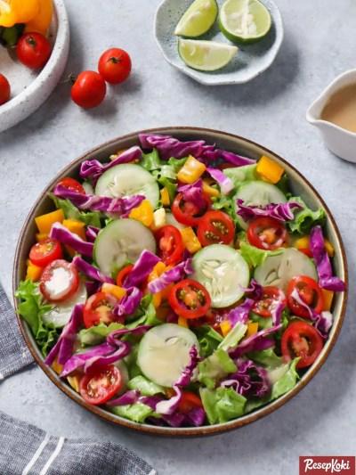 Gambar Hasil Membuat Resep Salad Sayur