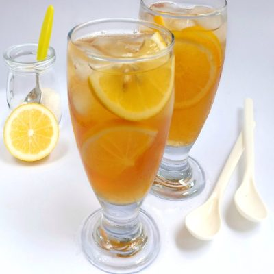 es lemon tea segar
