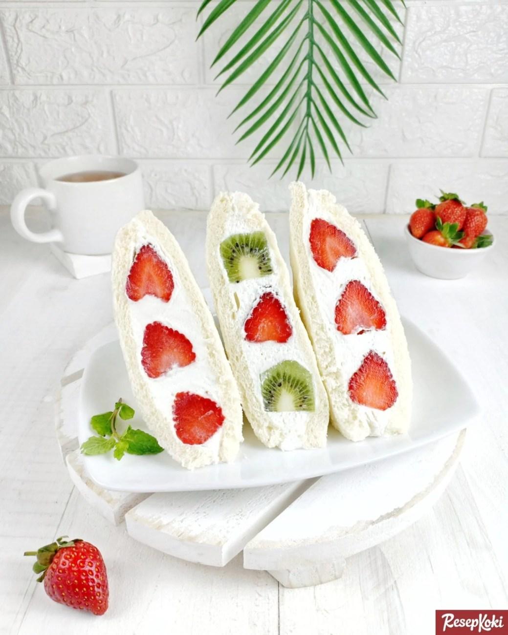 Resep Sandwich Buah
