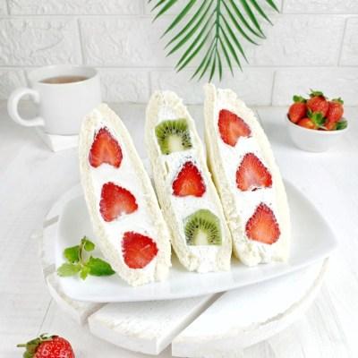 sandwich buah jepang cantik