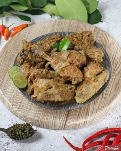 Gambar Hasil Membuat Resep Saksang Ayam
