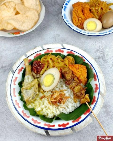 Gambar Hasil Membuat Resep Nasi Ayam Semarang