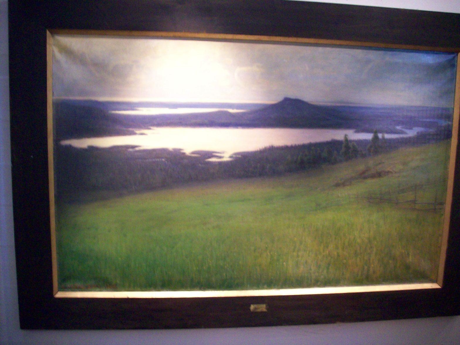 Målning av Otto Hesselbom