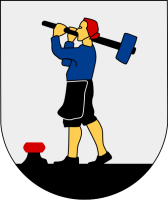 Säter vapen: Av Jan Ainali - File:Säter City Arms.png, Public Domain, https://commons.wikimedia.org/w/index.php?curid=6576176