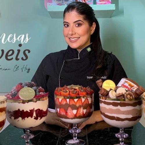 Curso Sobremesas incríveis por Tamine El Hajj