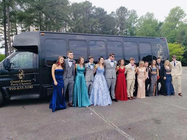 Prom Party Bus Hope Mills NC