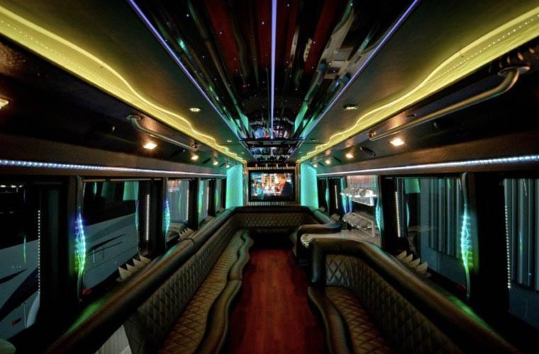 Party Bus Rental Raleigh Showstopper