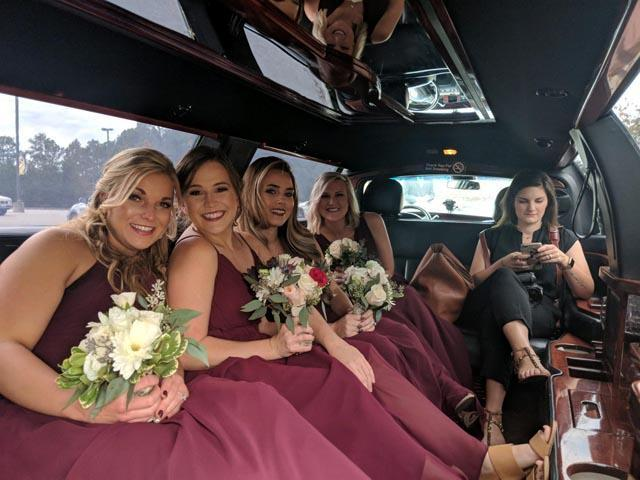 Cary NC wedding transport