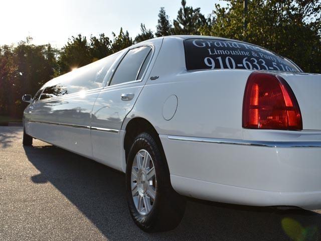 Clayton NC limousine exterior