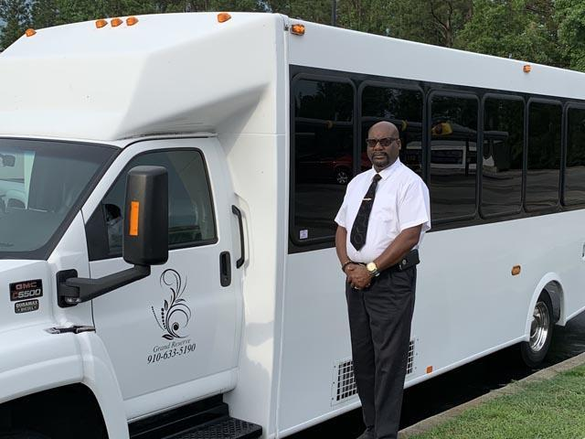 Durham NC party bus driver
