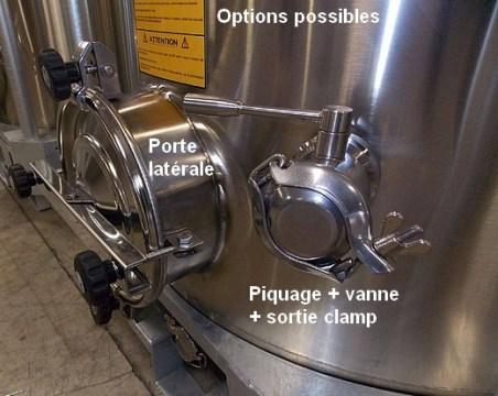 option-possibles-porte-latérale-piquage-vanne-sortie-clamp