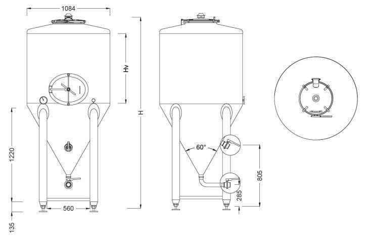 reservoir-conique-schema-dimensions