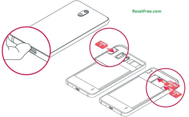 Remove your SD card and Sims - ResetFree.com