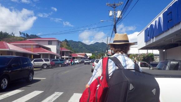 Volcan town