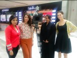 With CNN team in middleeast