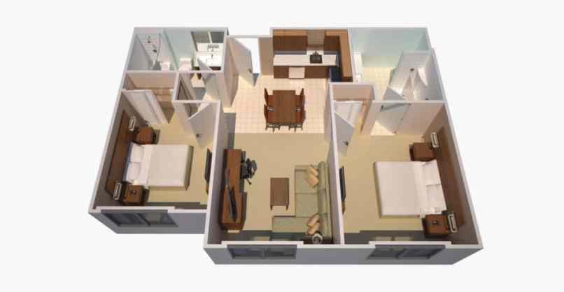 Residence Inn Two Bedroom Suite Floor Plan | www.resnooze.com
