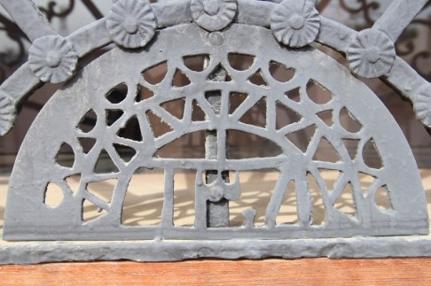 Reclaimed old ironwork