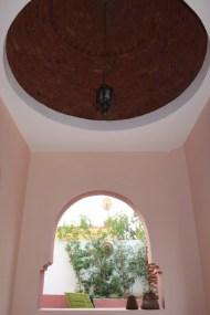 Domed terrace in Garden Apartment Arabesque