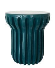 Guéridon RADIAN, design Cédric Ragot, à partir de 580 € - céramique émaillée