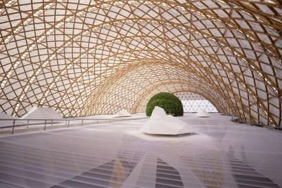 Pavillon japonais pour l'exposition universelle d'Hanovre - 2000