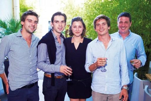 Equipe de l'hôtel de France et de l'hôtel Negre Coste.
