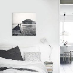 Salon-Contemporain-Tableau-Brighton-West-Pier-de-Blaek-Design-Studio