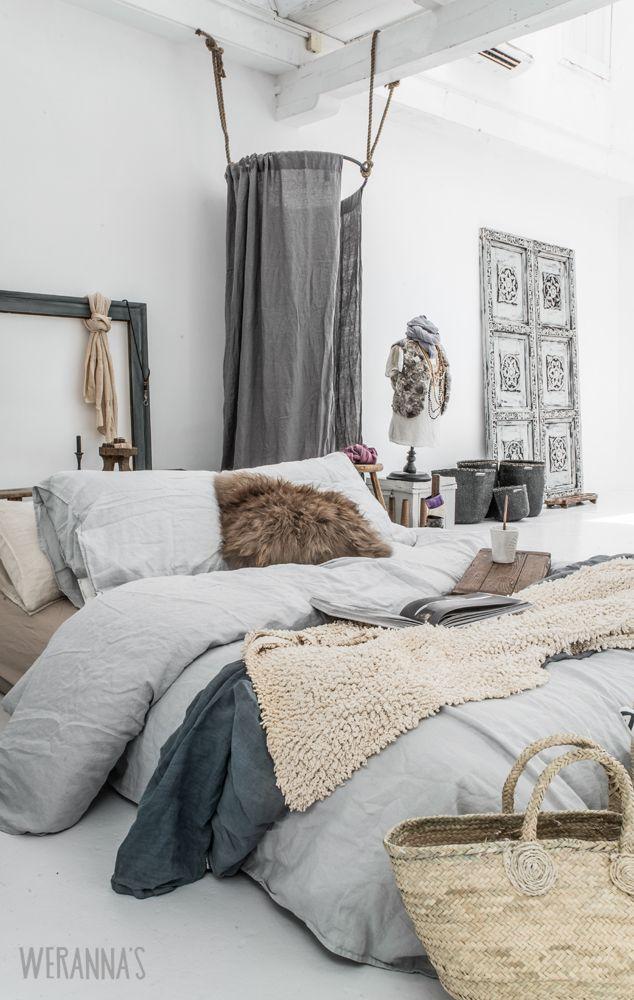 31 Bohemian Style Bedroom Interior Design on Bohemian Bedroom Ideas  id=49858