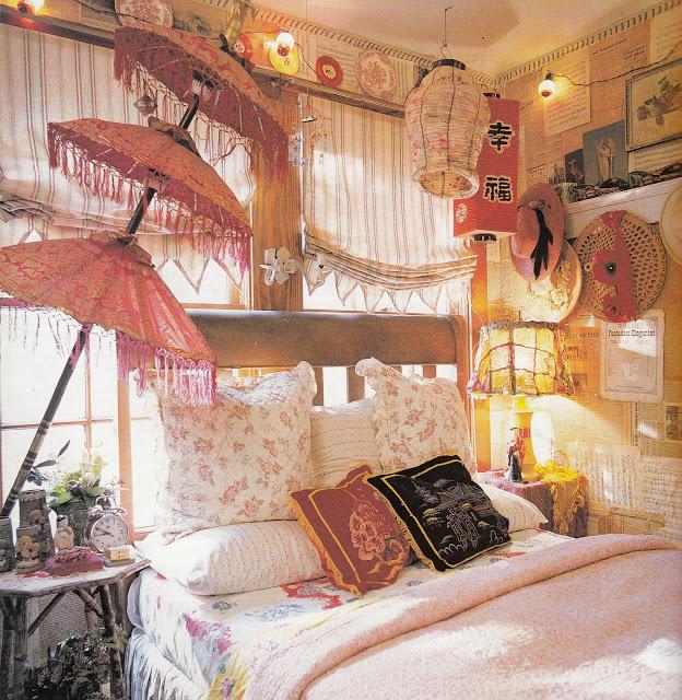 31 Bohemian Style Bedroom Interior Design on Bohemian Bedroom Ideas  id=99758