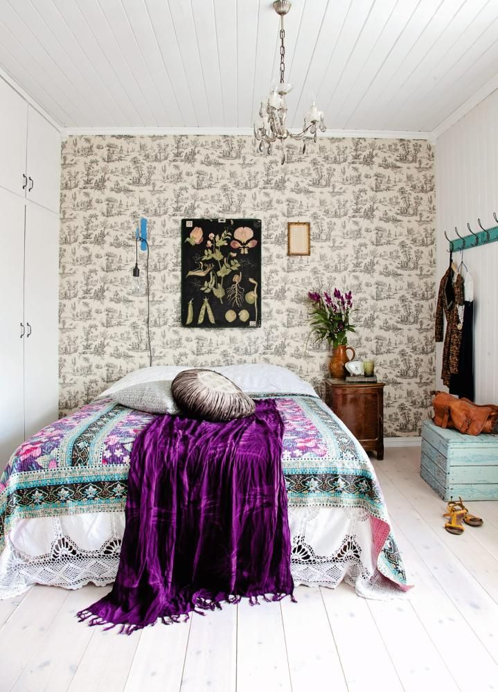 31 Bohemian Style Bedroom Interior Design on Boho Bedroom  id=71080