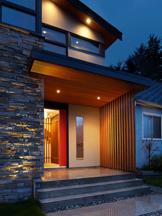 71 Contemporary Exterior Design Photos on Modern Entrance Design  id=92059