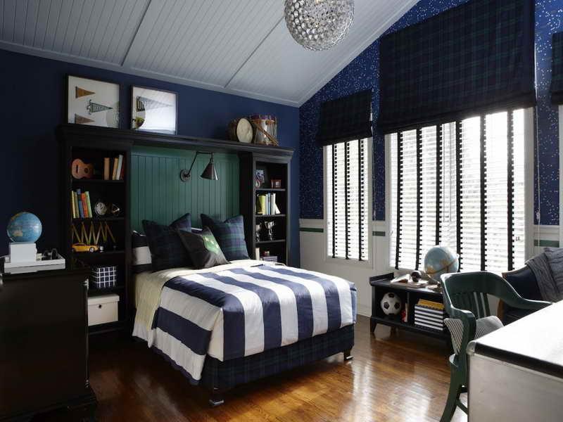 navy amp blue bedroom design ideas amp pictures on Dark Blue Bedroom Ideas id=27711