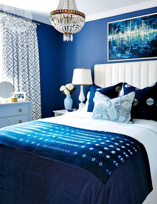 navy amp blue bedroom design ideas amp pictures Dark Blue Bedroom Ideas id=76001