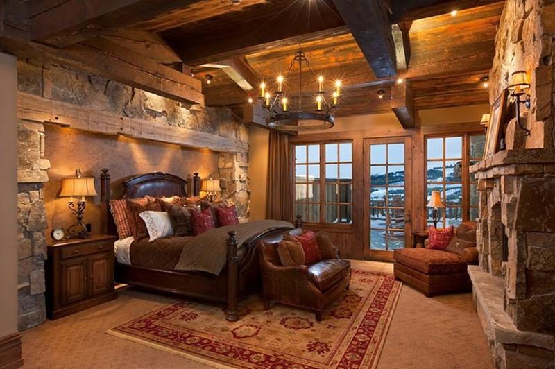21 Rustic Bedroom Interior Design Ideas on Room Decor Pictures  id=35957