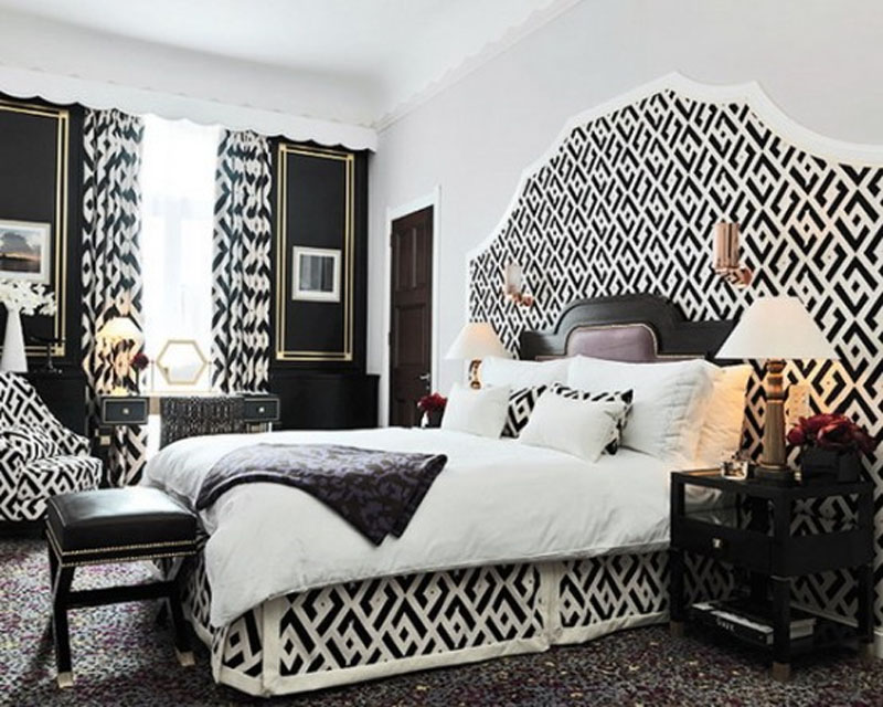 Black And White Bedroom Interior Design Ideas black and white bedroom interior design
