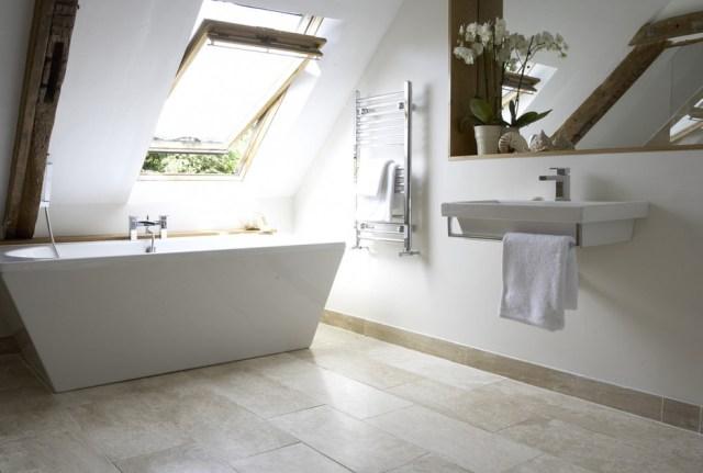 Charming Attic Bathroom