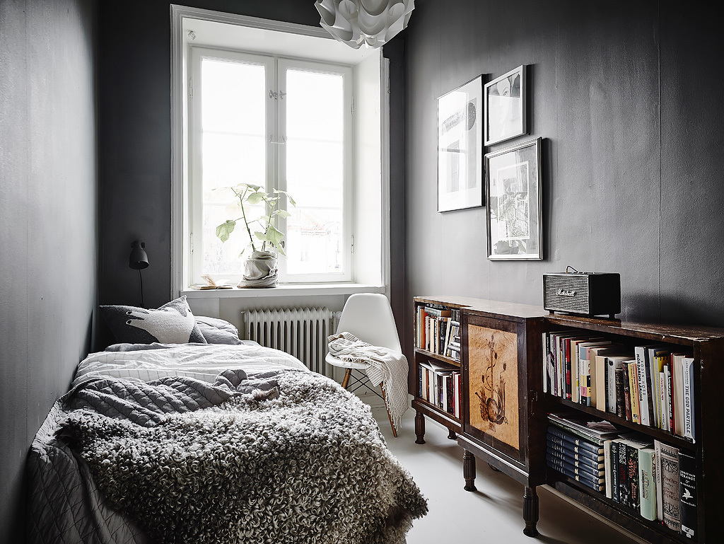 White, Modern & Vintage Swedish Apartment Look Amazing on Small Rooms  id=34455