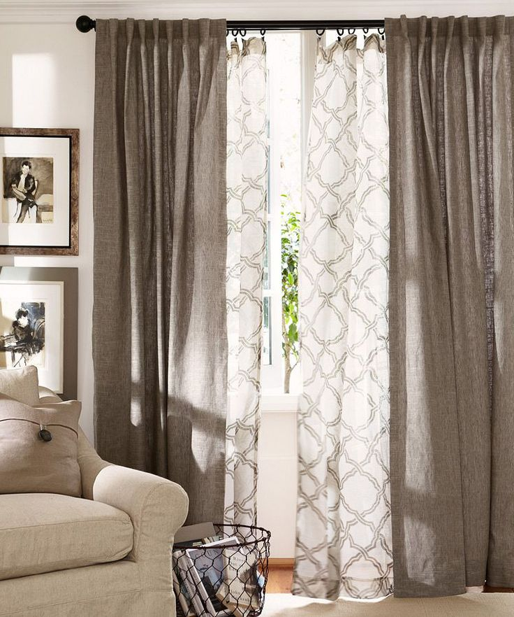9 Ways To Design Your Living Room Without Spending Too Much on Living Room Curtains Ideas  id=20789