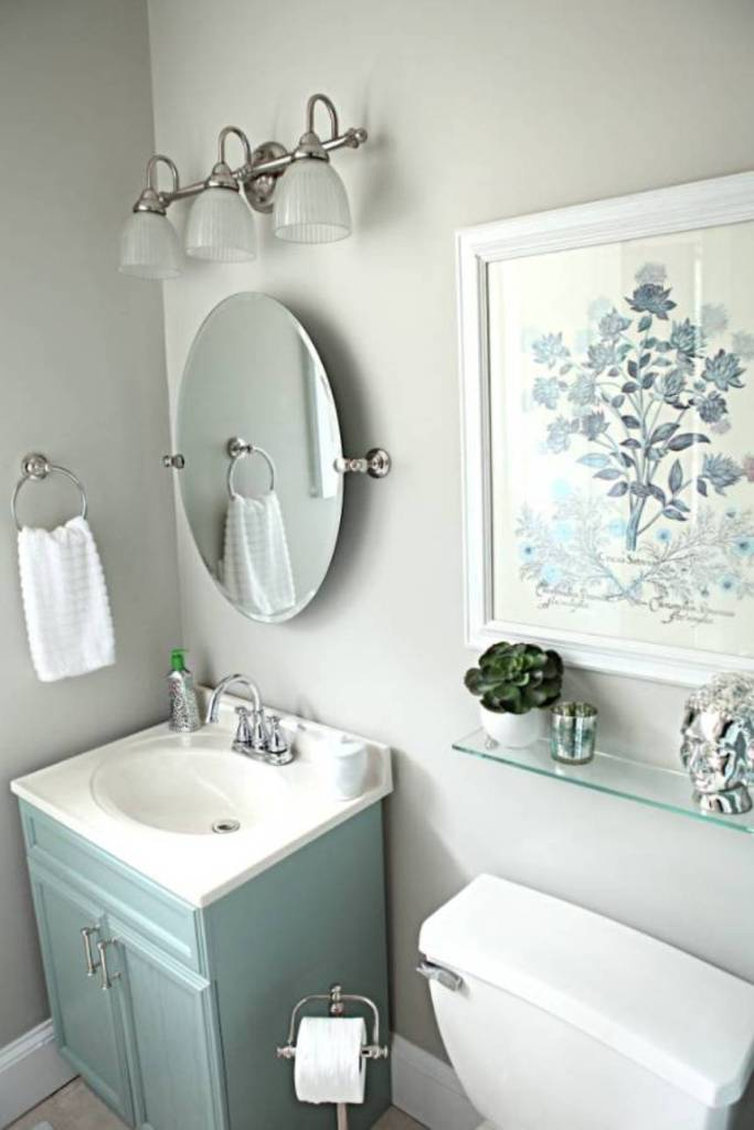 10 Quick And Easy Bathroom Decorating Ideas on Ideas For Small Bathrooms  id=51031
