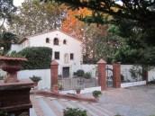 Imatge zones exteriors de la Casa natal de Mª Ràfols
