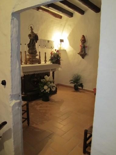 Habitació on nasqué Mª Ràfols