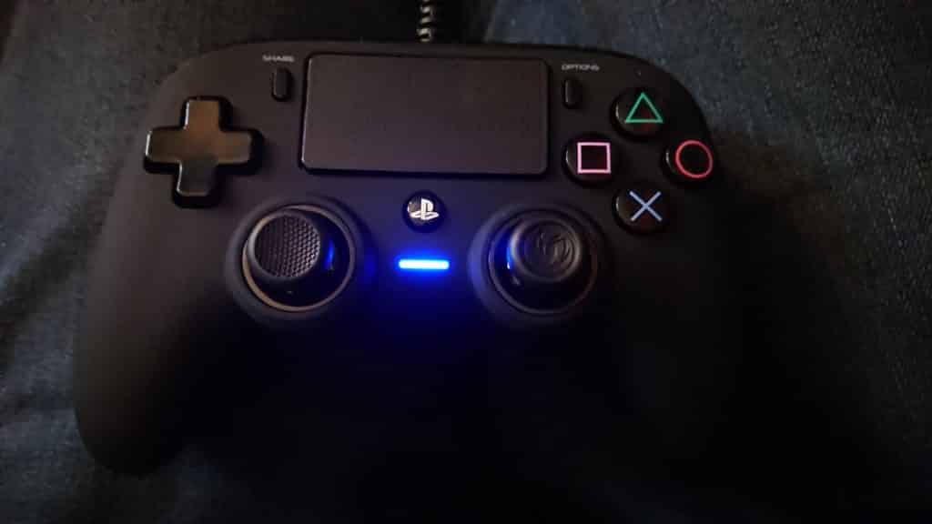 The Controller when plugged in :-) Nacon Wired Compact Control Review