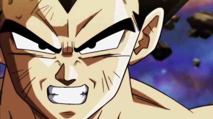 Proud of Vegeta's performance in the tournament of power this week