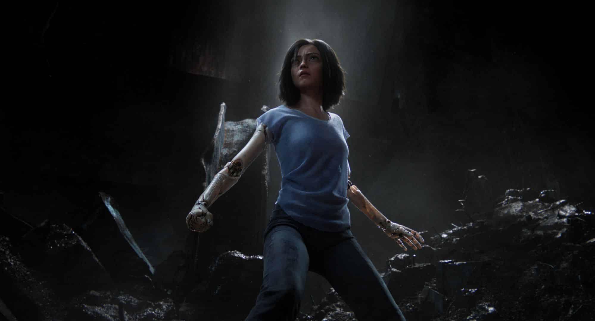 Rosa Salazar is Alita in Alita: Battle Angel